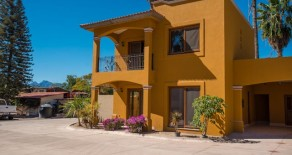 Highest quality new homes in a very special, private neighborhood in the historic downtown of Loreto