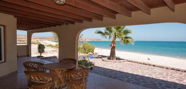 Hot Deal! Beachfront Casa in Punta Chivato beautiful turn key 2bed/2bath + garage!
