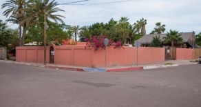 Walled Lot with city Services in Loreto 2 blocks from the Sea