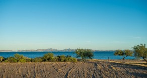 Large Beachfront Lot in Loreto~development opportunity~with amazing island views!
