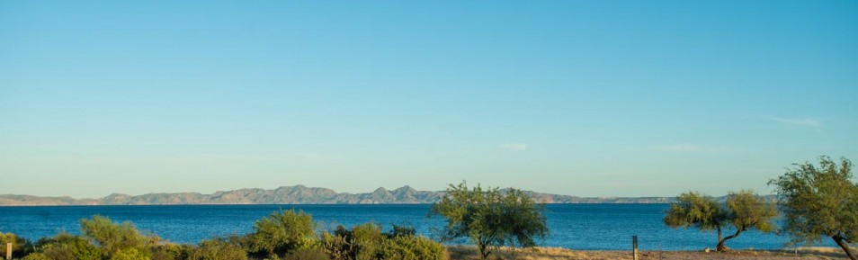 Large Beachfront Lot in Loreto~development opportunity~with amazing island views!